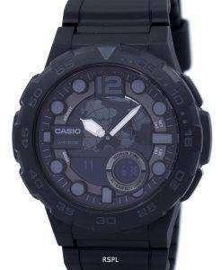 Casio World Time Alarm Analog Digital AEQ-100W-1BV Men's Watch