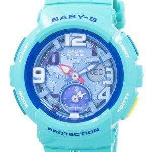 Casio Baby-G World Time Dual Dial Analog Digital BGA-190-3B Women's Watch