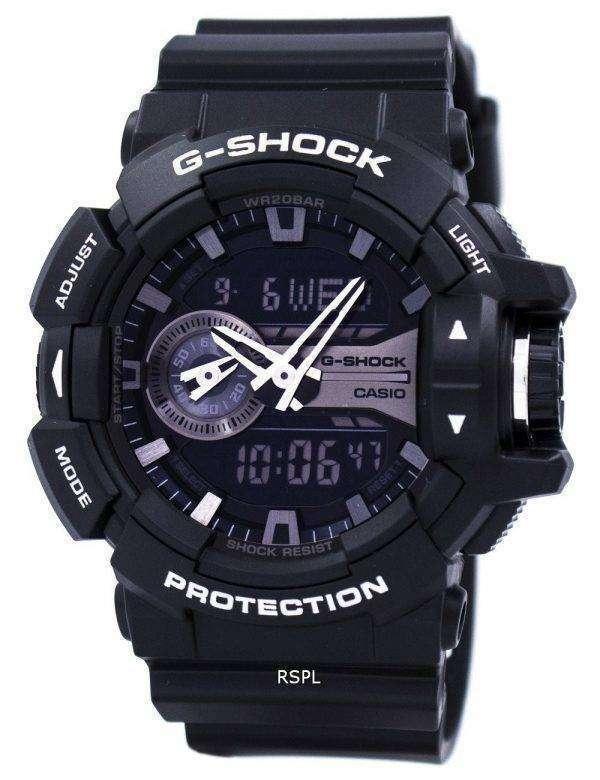 Casio G-Shock Analog Digital World Time GA-400GB-1A Mens Watch