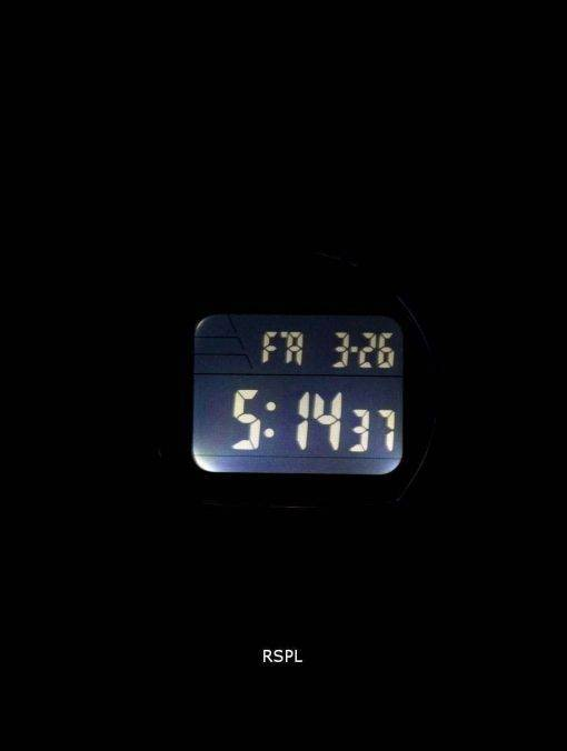 Casio Super Illuminator Dual Time Vibration Alarm Digital W-736H-2AV Men's Watch