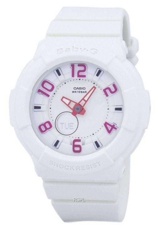Casio Baby-G Neon Illuminator BGA-133-7BDR Womens Watch