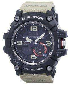 Casio G-Shock Mudmaster Analog Digital Twin Sensor GG-1000-1A5 Mens Watch