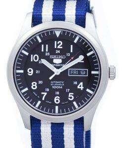 Seiko 5 Sports Automatic Japan Made NATO Strap SNZG15J1-NATO2 Men's Watch
