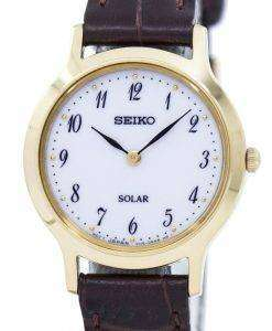 Seiko Solar SUP370 SUP370P1 SUP370P Women's Watch