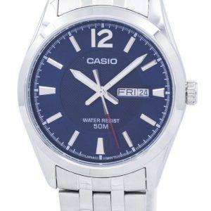 Casio Enticer Analog Quartz MTP-1314D-2AVDF MTP1314D-2AVDF Men's Watch