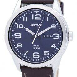 Seiko Solar SNE475 SNE475P1 SNE475P Men's Watch