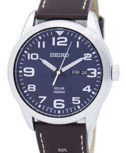 Seiko Solar SNE475 SNE475P1 SNE475P Men's Watch