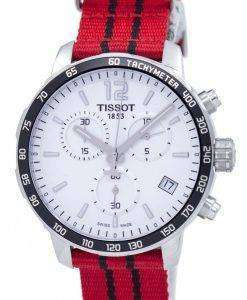 Tissot Quickster NBA Chicago Bulls Chronograph T095.417.17.037.04 T0954171703704 Men's Watch