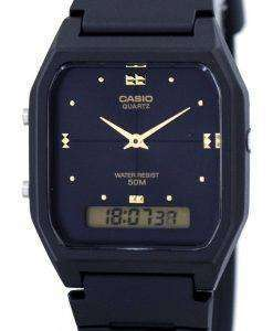 Casio Youth Dual Time Analog Digital Quartz AW-48HE-1AV AW48HE-1AV Men's Watch