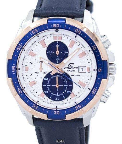Casio Edifice Chronograph Quartz EFR-539L-7CV EFR539L-7CV Men's Watch