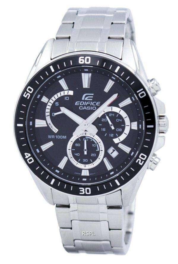 Casio Edifice Chronograph Quartz EFR-552D-1AV EFR552D-1AV Men's Watch
