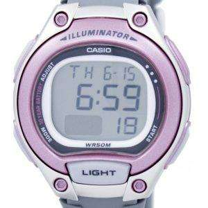 Casio Illuminator Dual Time Alarm Digital LW-203-8AV LW203-8AV Women's Watch