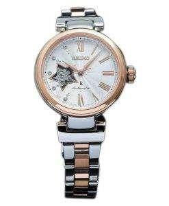 Seiko Lukia Automatic Diamond Accent Japan Made SSVM034 Women's Watch
