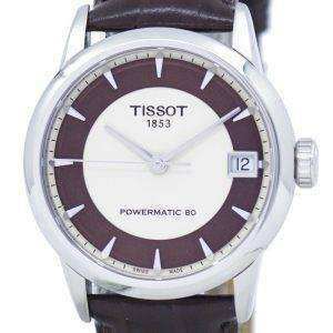 Tissot T-Classic Luxury Powermatic 80 Lady T086.207.16.261.00 T0862071626100 Women's Watch