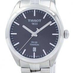 Tissot T-Classic PR 100 Titanium Quartz T101.410.44.061.00 T1014104406100 Men's Watch