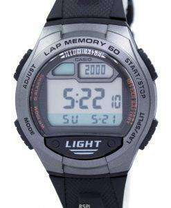Casio Youth Illuminator Dual Time Digital W-734-1AV W734-1AV Men's Watch