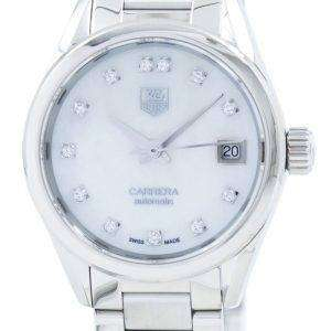 Tag Heuer Carrera Automatic Diamond Accent WAR2414.BA0776 Women's Watch