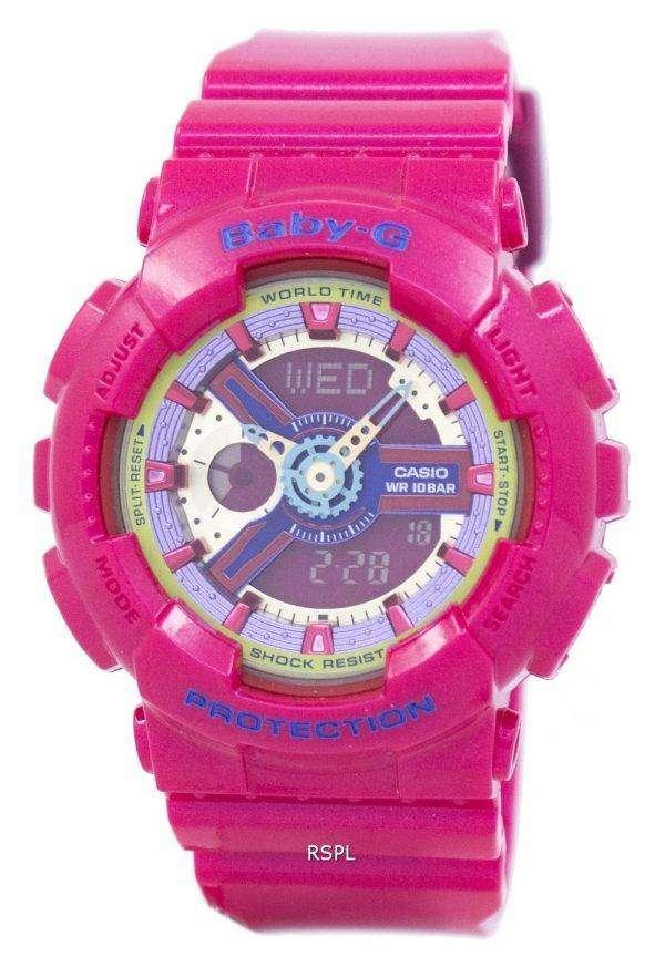 Casio Baby-G World Time BA-112-4A Womens Watch