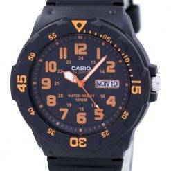 Casio Quartz Analog Black Dial MRW-200H-4BVDF MRW-200H-4BV Mens Watch