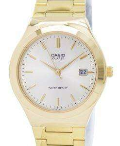 Casio Quartz Analog Gold Tone Dial MTP-1170N-9ARDF MTP-1170N-9AR Mens Watch