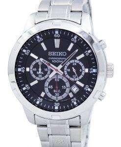 Seiko Chronograph Quartz SKS605 SKS605P1 SKS605P Men's Watch