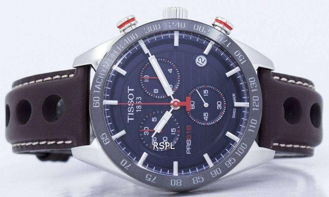 92b5f99c007 Tissot T-Sport PRS 516 Chronograph Quartz T100.417.16.041.00 T1004171604100  Men's Watch