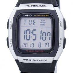 Casio Youth Digital Alarm Chrono Illuminator W-96H-1AVDF W-96H-1AV Mens Watch