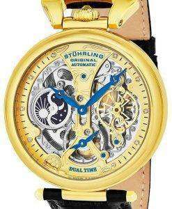Stuhrling Original Emperor's Grand Dual Time Automatic 127A2.333519 Men's Watch