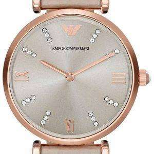 Emporio Armani Classic Retro Quartz Diamond Accent AR1681 Women's Watch
