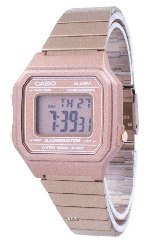 Casio Vintage Illuminator Chronograph Alarm Digital B650WC-5A Unisex Watch