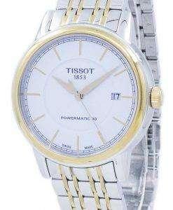 Tissot T-Classic Carson Powermatic 80 T085.407.22.011.00 T0854072201100 Men's Watch