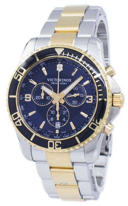 Victorinox Maverick Swiss Army Chronograph Tachymeter Quartz 241791 Men's Watch