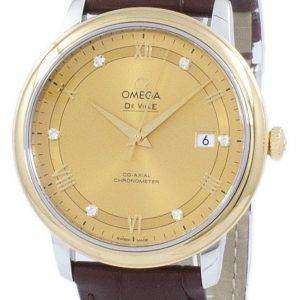 Omega De Ville Prestige Co-axial Chronometer Automatic 424.23.40.20.58.001 Men's Watch