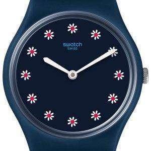 Swatch Originals Flower Carpet Analog Quartz GN256 Women's Watch