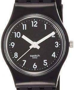 Swatch Originals Lady Black Single Anlog Quartz LB170E Women's Watch