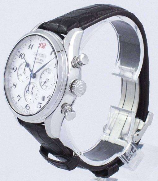 Seiko Presage Chronograph Automatic Japan Made SRQ025 SRQ025J1 SRQ025J Men's Watch