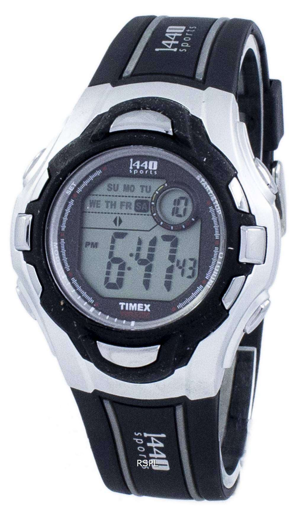 c2cb8b374 Timex 1440 Sports Indiglo Digital T5H091 Men's Watch