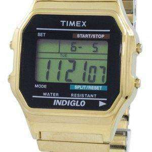 Timex Classic Indiglo Chronograph Alarm Digital T78677 Men's Watch