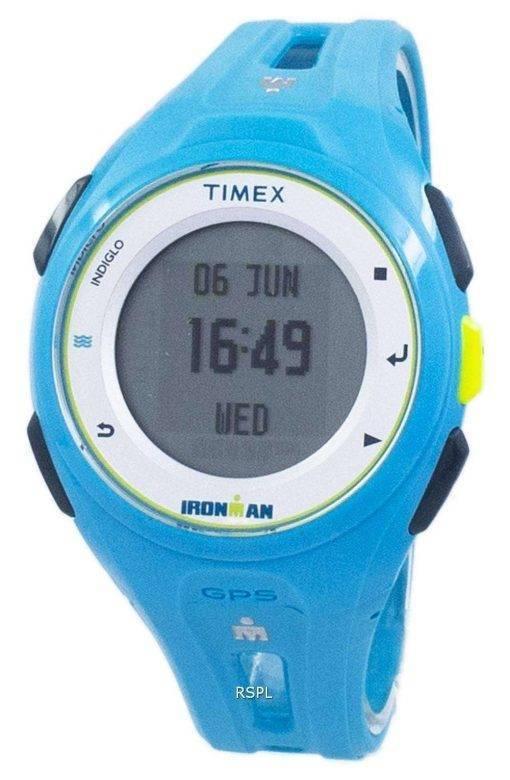 Timex Ironman Run X20 GPS Indiglo Digital TW5K87600 Unisex Watch