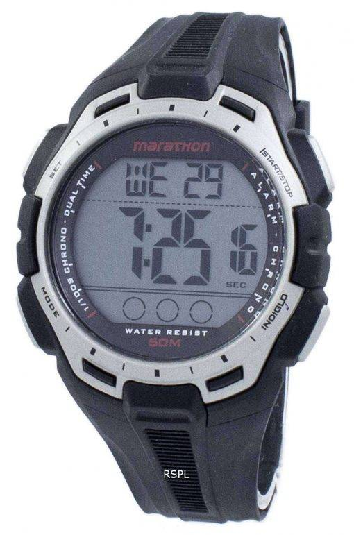 Timex Sports Marathon Chronograph Dual Time Indiglo TW5K94600 Men's Watch
