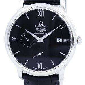 Omega DeVille Prestige Co-Axial Power Reserve Chronometer 424.13.40.21.01.001 Mens Watch