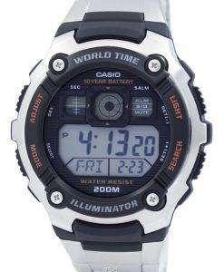 Casio Digital World Time AE-2000WD-1AVDF AE-2000WD-1AV Mens Sport Watch