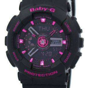 Casio Baby-G World Time Analog-Digital BA-111-1A Women's Watch