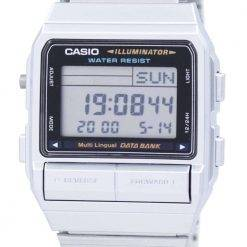 Casio Digital 5 Alarm Multi-Lingual Data Bank DB-380-1DF DB-380-1 Mens Watch