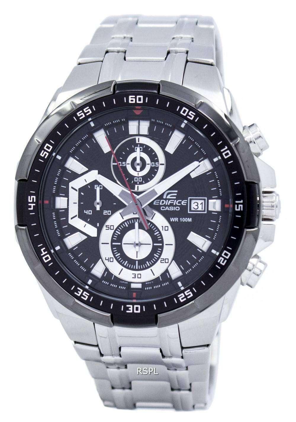 ad654d7766c0 Casio Edifice Chronograph 100M EFR-539D-1AV Mens Watch