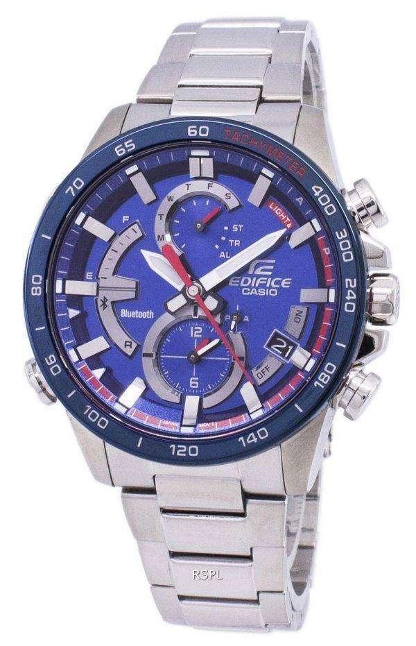 Casio Edifice Bluetooth Tough Solar Dual Time EQB-900TR-2A EQB900TR-2A Men's Watch