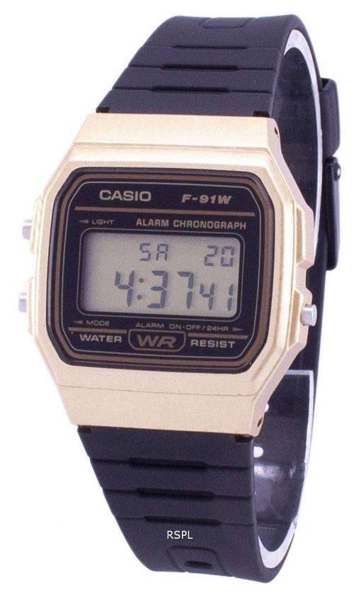 Casio Vintage Chronograph Quartz Alarm F-91WM-9A F91WM-9A Unisex Watch