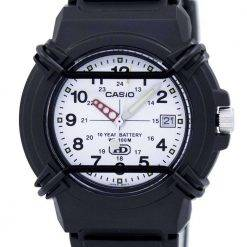 Casio Enticer Analog White Dial HDA-600B-7BVDF HDA-600B-7BV Mens Watch
