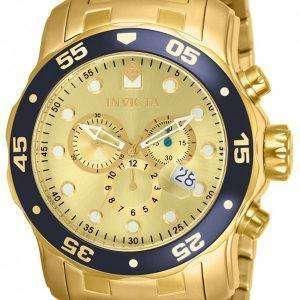 Invicta Pro Diver Chronograph Quartz 200M 80068 Men's Watch