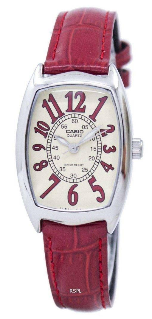 Casio Quartz Analog LTP-1208E-9B2DF LTP-1208E-9B2 Womens Watch